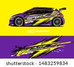 car graphic design concept.... | Shutterstock .eps vector #1483259834