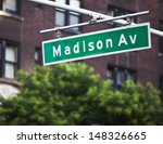 madison avenue sign in new york ... | Shutterstock . vector #148326665
