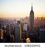 new york   dec 29  the iconic... | Shutterstock . vector #148326941