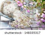 Closeup View Of Natural Floral...