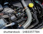 a lot of parts in the car... | Shutterstock . vector #1483357784