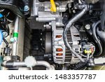 a lot of parts in the car... | Shutterstock . vector #1483357787