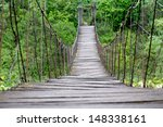 Old Wooden Footbridge  ...