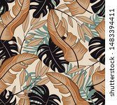 abstract seamless pattern with...   Shutterstock .eps vector #1483394411