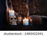 Shelf In The Attic Of The Magi...