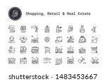e commerce  shopping  retail ... | Shutterstock .eps vector #1483453667