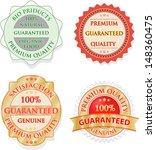 vintage label set   Shutterstock .eps vector #148360475