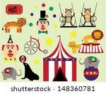 circus fun | Shutterstock .eps vector #148360781