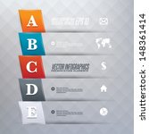 step by step infographics... | Shutterstock .eps vector #148361414