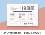 vintage minimal label. set of... | Shutterstock .eps vector #1483639397