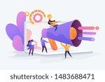 customer attraction  social... | Shutterstock .eps vector #1483688471