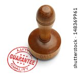 Red Quality Guarantee Stamp...