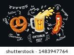 Lettering Oktoberfest  German...