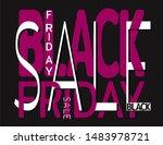 elegant black friday... | Shutterstock .eps vector #1483978721