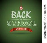 welcome back to school... | Shutterstock .eps vector #148400525