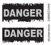 grunge banner with the words... | Shutterstock .eps vector #1484021444