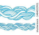 abstract seamless pattern.... | Shutterstock .eps vector #1484032901