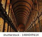 Library in Dublin Trinity college