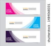 vector abstract design web... | Shutterstock .eps vector #1484068331