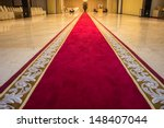 Red Carpet With A Beautiful...