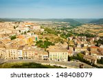 view of  catalan town. cardona  ... | Shutterstock . vector #148408079