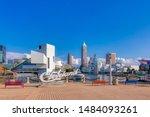 cleveland  ohio usa   august 7  ... | Shutterstock . vector #1484093261