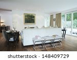 view of a modern and spacious... | Shutterstock . vector #148409729