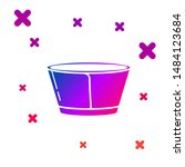 color protective cone collar... | Shutterstock .eps vector #1484123684