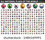 all national flags of the world ... | Shutterstock .eps vector #1484169491