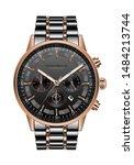 realistic clock watch...   Shutterstock .eps vector #1484213744