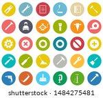 repair tools icons set  ... | Shutterstock .eps vector #1484275481