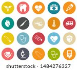 medical icons  health care... | Shutterstock .eps vector #1484276327