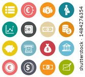 investment icons  business... | Shutterstock .eps vector #1484276354