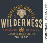wilderness superior quality ... | Shutterstock .eps vector #1484279444