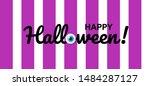 happy halloween. halloween...   Shutterstock .eps vector #1484287127