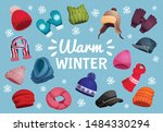 seasonal winter scarf hats...