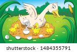 Fairy Tale Ugly Duckling Vector ...