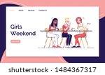 girls weekend landing page...