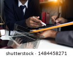 law  advice and legal services... | Shutterstock . vector #1484458271