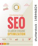 search engine optimization  ... | Shutterstock .eps vector #148446824