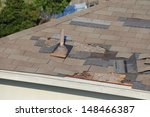 a close up view of shingles... | Shutterstock . vector #148466387