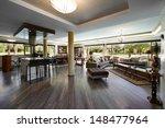 interior design  big living room | Shutterstock . vector #148477964