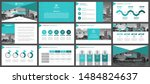 presentation templates ... | Shutterstock .eps vector #1484824637