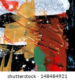 abstract painting | Shutterstock . vector #148484921
