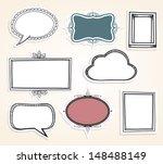 frame labels. eps10. | Shutterstock .eps vector #148488149