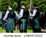 Pipers At The World Pipe...