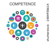 competence infographic circle...