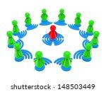 internet online training...   Shutterstock . vector #148503449
