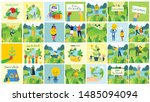 vector illustration eco...   Shutterstock .eps vector #1485094094