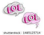 set of cute vector stickers....   Shutterstock .eps vector #1485125714
